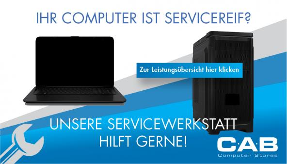 Das CAB Service-Center!