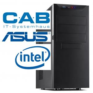 "CAB-PC Office ""SCHLOSSBERG 2019 Intel"" Pentium 2x3,7 GHz, 8 GB RAM, 120 GB SSD"