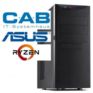 "CAB-PC Multimedia ""NOTSCHREI 2020 AMD"" - Ryzen 5, 8 GB Ram, 500 GB SSD, GeForce 1650"